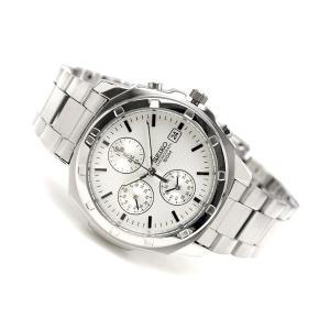 クロノグラフ セイコー メンズ 腕時計 SEIKO セイコー レア 人気 限定 ステンレス プレゼント ギフト ブランド バレンタイン SND187P1|hapian