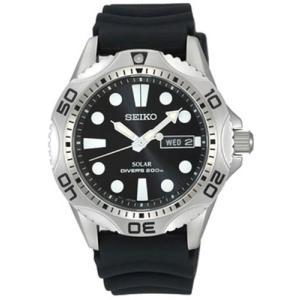 SEIKO セイコー ソーラー SOLAR メンズ ウォッチ 腕時計 ダイバーズ 200m防水 日本製クォーツムーブメント SNE107P2|hapian