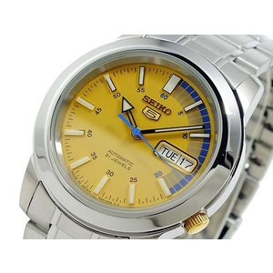 セイコー 5 SEIKO スポーツ 日本製 メンズ 腕時計 自動巻き SNKK29J1|hapian