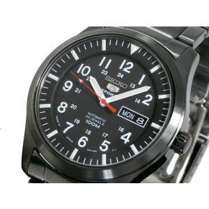 セイコー SEIKO 5 SPORTS スポーツ 海外モデル 腕時計 自動巻き 日本製 SNZG17J1 メンズ ブラック メタルベルト ビジネス|hapian