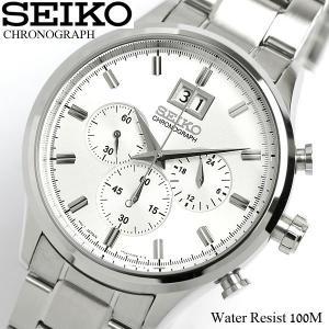 セイコー SEIKO 腕時計 クロノグラフ メンズ SPC0...