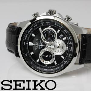 SEIKO セイコー クロノグラフ クオーツ メンズ 腕時計...