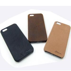 iPhoneケース iPhone5 アイフォン ケース 専用ケース 牛革 ヌバック レザー ケース|hapian