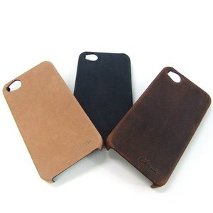 iPhoneケース iPhone4 iPhone4S アイフォン ケース 専用ケース レザー 本革 牛革 ヌバック|hapian
