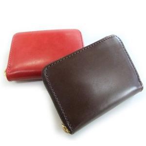 メンズ 男性 財布 さいふ サイフ  ブランド 英国産 ブライドルレザー コインケース 牛革 ヌメ革|hapian