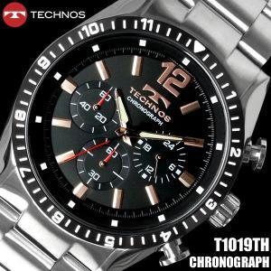 腕時計 メンズ メンズ腕時計 TECHNOS クロノグラフ テクノス hapian