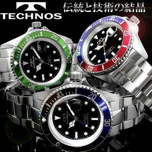メンズ 腕時計 ダイバーズ デザイン 腕時計 ブランド TECHNOS hapian