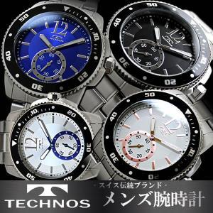 メンズ 腕時計 ウォッチ ブランド テクノス TECHNOS T4319 hapian