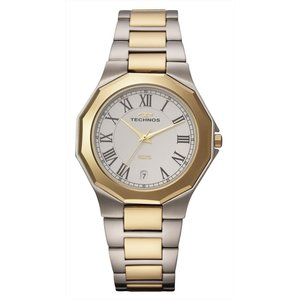 【メーカー正規品】TECHNOS テクノス メンズ 腕時計 タングステンベゼル 3針メンズクォーツ 3気圧防水 T9624TW コンビ|hapian