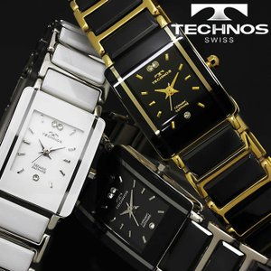 腕時計 レディース 時計 テクノス 防水 TECHNOS セラミック スクエア TSL906|hapian