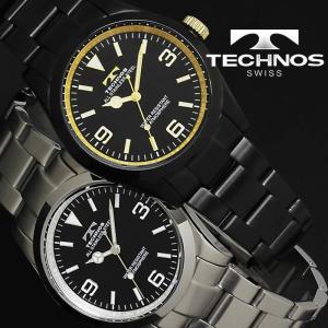 腕時計 メンズ 時計 テクノス 防水 TECHNOS ビジネス TSM208 hapian