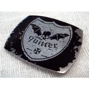 ベルト バックル プリント スカル 紋章 ヴィンテージ 日本製 国産|hapian