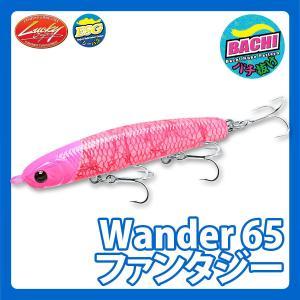 ラッキークラフト ワンダー65ファンタジー  - バチパラカラー hapinetangler