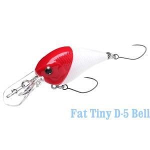 ラッキークラフト ハゼ Fat Tiny D-5 Bell|hapinetangler