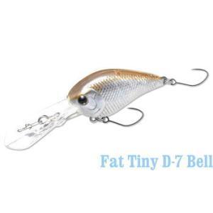 ラッキークラフト ハゼ Fat Tiny D-7 Bell|hapinetangler
