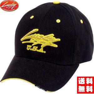 ラッキークラフト(LUCKY CRAFT)帽子LCクラシックキャップ黄色|hapinetangler