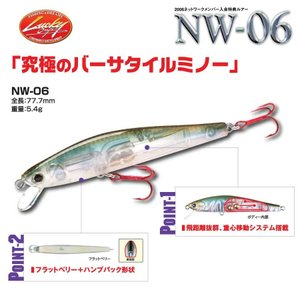 ラッキークラフト NW-Amigo 06 / フラッシュポインター77|hapinetangler