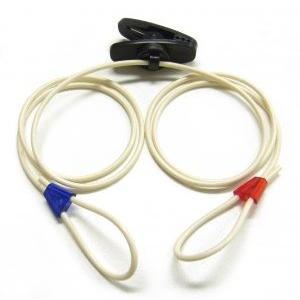 耳掛け型補聴器用紛失防止クリップ 成人用|haplaza