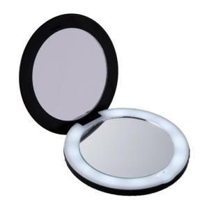 10倍拡大鏡コンパクト2面ミラー(ライト付)|happeast