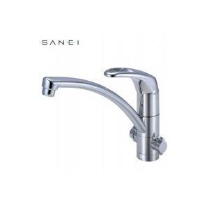 三栄水栓 SANEI シングルワンホール分岐混合栓 寒冷地用 K8761TJK-13C|happeast
