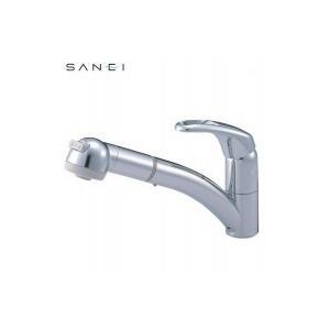 三栄水栓 SANEI シングルワンホールスプレー混合栓 寒冷地用 K8760JK-C-13C|happeast
