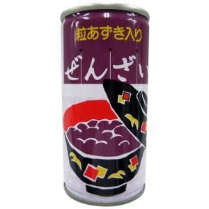 プラム食品 ぜんざい缶ドリンク 190g×30缶 |happeast