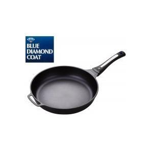 パール金属 HB-1212 ブルーダイヤモンドコートIH対応フライパン30cm|happeast
