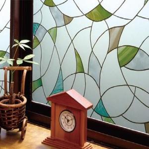 飛散防止効果のある窓飾りシート(大革命アルファ) GH-9203 92cm丈×90cm巻|happeast