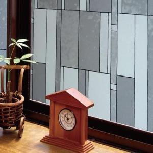 飛散防止効果のある窓飾りシート(大革命アルファ) GH-9205 92cm丈×90cm巻|happeast