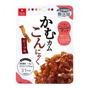 アスザックフーズ 噛むカムこんにゃく ビーフ味 60袋(10袋×6箱)|happeast