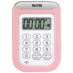 タニタ 丸洗いタイマー100分計 TD378PK(ピンク)|happeast