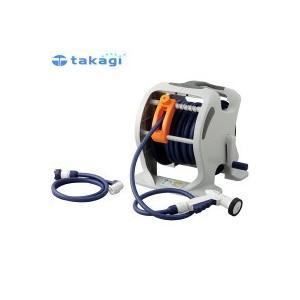 takagi タカギ 園芸散水用品 ホースリール マーキュリーツイスター(NB30m)|happeast