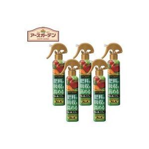 アース製薬 リッチベジタブル 野菜の肥料の吸収を高めるスプレー 200ml×5セット|happeast