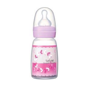 Combi(コンビ) テテオ 哺乳びん ポリプロピレン製j100ml 母乳・ミルクトレーニング用Sサイズ乳首付|happeast