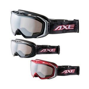 AXE(アックス) メンズ ダブルレンズ ゴーグル AX700-WMD|happeast