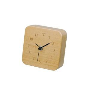 モディッシュ 木製置時計 角型 G-1159N|happeast