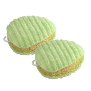びっくりフレッシュ 落ちにくい汚れもちょこっと洗濯でよく落ちる! グリーン 2個セット BH-05|happeast