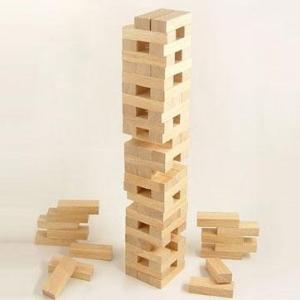 木製バランスブロック 75pcs(75ピース) 145-212|happeast