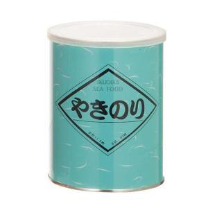 金原海苔店 国内産 黒磯焼海苔 (全形11.5枚 8切92枚) 缶容器 やきのり 3個セット happeast