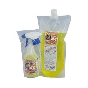 お掃除ソムリエ アルカリ性銀(Ag)洗剤 バスクリーナー 300ml+詰め替え1000mlセット AG-A-1300|happeast