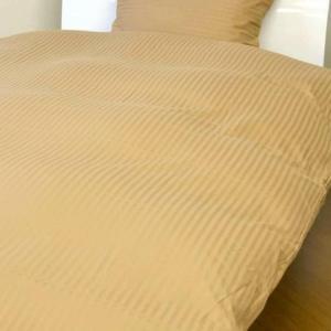 westy(ウエスティ) 国産 綿100% ストライプサテンスペシャル ボックスシーツ シングル 約100×200×25cm 810070|happeast