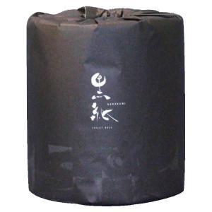 黒紙トイレットペーパー W30m 48個入 2038 happeast