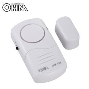 OHM お知らせチャイム ドア・窓用 開放感知タイプ OSE-C85|happeast