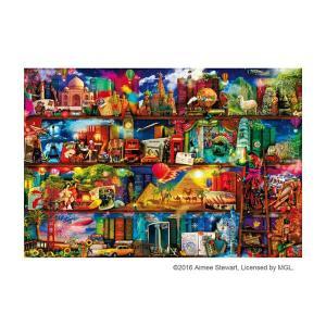 ジグソーパズル 1000ピース 世界旅行の本棚 31-468|happeast