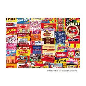 ジグソーパズル 1000ピース ヴィンテージアート キャンディー・チョコレート 31-436|happeast
