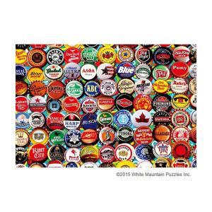 ジグソーパズル 1000ピース ヴィンテージアート ビールキャップ 31-437|happeast