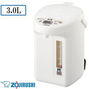 象印 マイコン沸とう VE電気まほうびん 優湯生(ゆうとうせい) WA(ホワイト) 3.0L CV-TZ30-WA|happeast