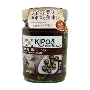 キポス グリルドマッシュルーム クリームチーズ入り 230g×6個 happeast