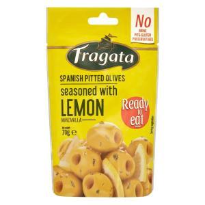 Fragata(フラガタ) グリーンオリーブ レモン 70g×8個セット