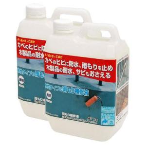 日本ミラコン産業 雨もり補修液 1kg 2本セット MR-003 happeast